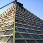 Arbeiten an einem Dach