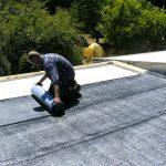 Isolierung/Dämmung eines Daches